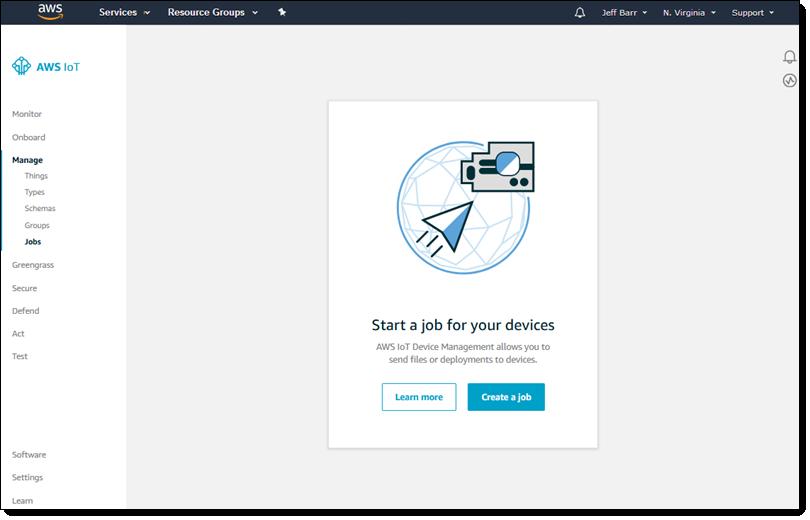 New – Over-the-Air (OTA) Updates for Amazon FreeRTOS | AWS