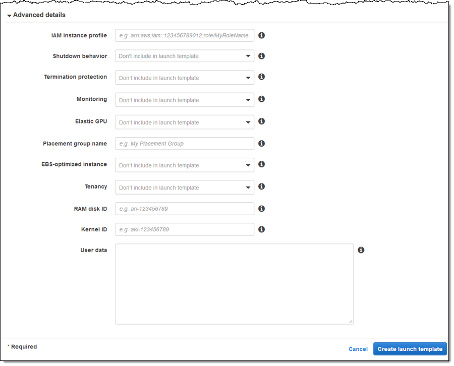Recent EC2 Goodies – Launch Templates and Spread Placement | AWS