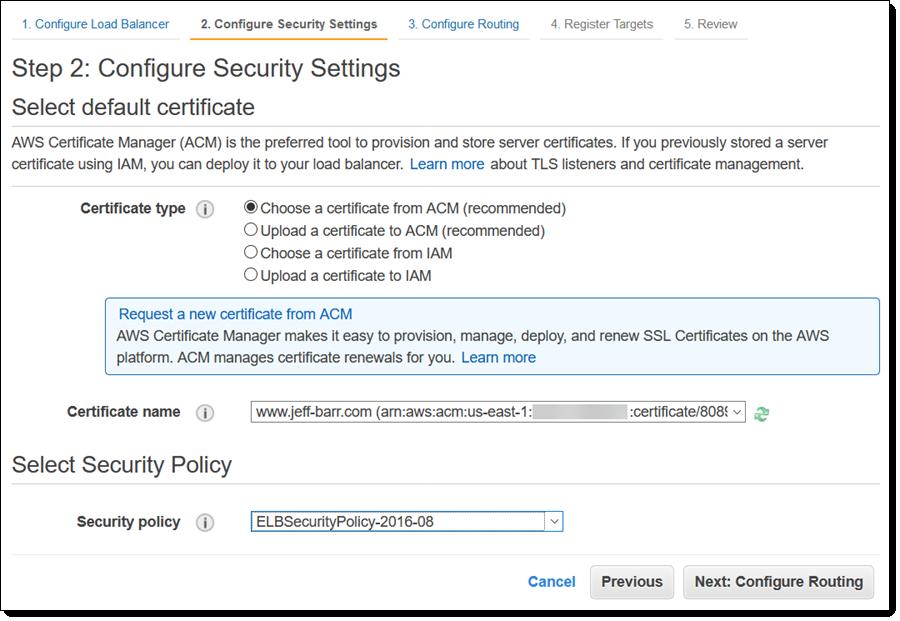 New – TLS Termination for Network Load Balancers | AWS News Blog