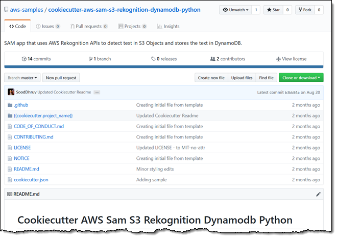 AWS Serverless Application Model (SAM) Command Line Interface