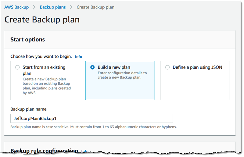 AWS Backup – Automate and Centrally Manage Your Backups