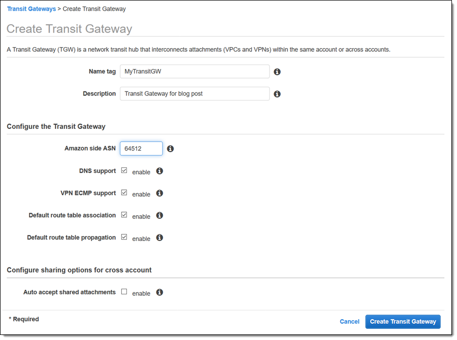 Use AWS Transit Gateway & Direct Connect to Centralize and