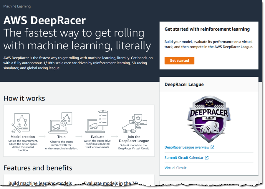 The AWS DeepRacer League Virtual Circuit is Now Open – Train