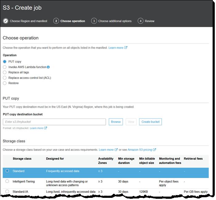 New – Amazon S3 Batch Operations - JTEK Data Solutions LLC
