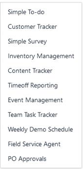 hc create templates 1