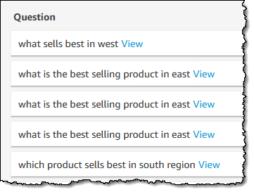 Amazon QuickSight Q – Business Intelligence Using Natural Language Questions