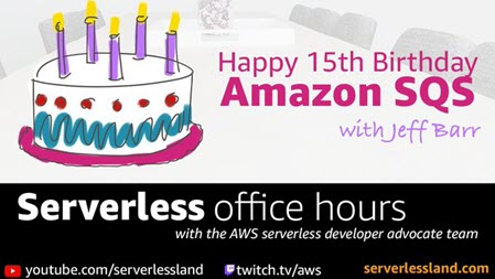 Amazon Simple Queue Service (SQS) – 15 Years and Still Queueing!