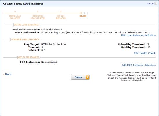 AWS Elastic Load Balancing: Support for SSL Termination | AWS News Blog