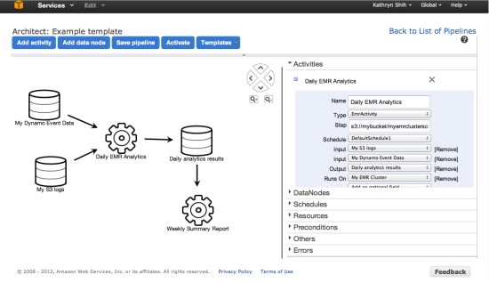 The New AWS Data Pipeline | AWS Blog