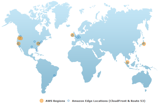 Amazon elasticache support in four additional regions while i am talking about regions and services i should mention the new aws global infrastructure map the map shows the current set of aws regions and edge gumiabroncs Gallery