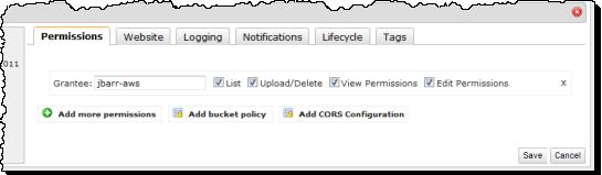 CORS Configuration