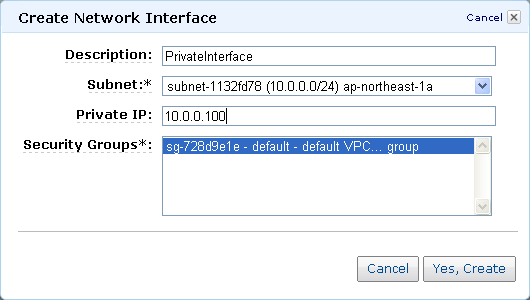 New – Elastic Network Interfaces in the Virtual Private Cloud | AWS