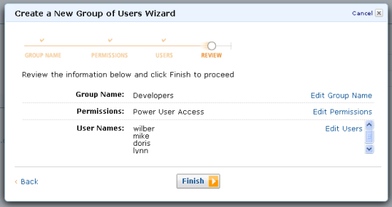 AWS adds Identity Management