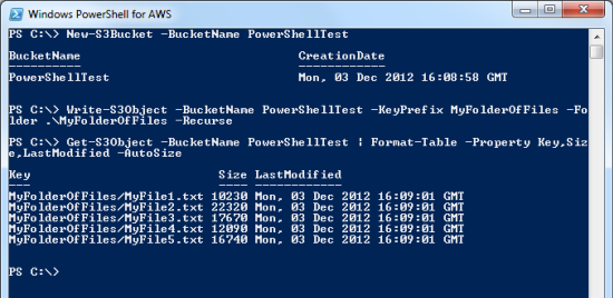 Windows Wednesday – AWS Tools for Windows PowerShell | AWS News Blog