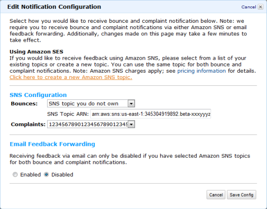 Programmable Feedback Notification for the Simple Email