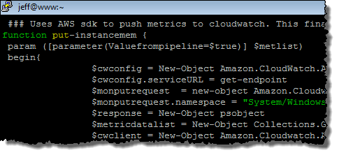 Amazon CloudWatch Monitoring Scripts for Microsoft Windows